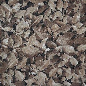 Jacquard Estampado Muro Inglês Folhas Secas 2,80mt de Largura