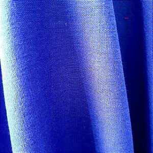 Linho Misto com Elastano Azul Royal 1,40mt de Largura