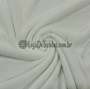 Atoalhado Microfibra com Poliamida Branco 1,40mt de Largura