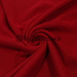 Atoalhado Microfibra com Poliamida Vermelho 1,40mt de Largura