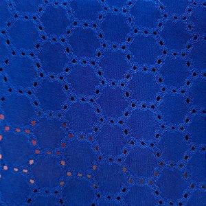 Laise de Malha Azul Royal 1,50mt de Largura