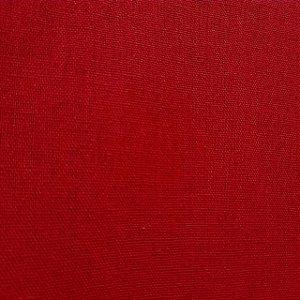 Linho Misto Vermelho 1,40mt de Largura