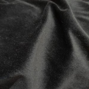 Malha Plush Preto 1,60mt de Largura