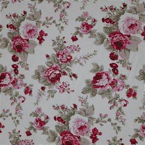 Tricoline Estampado Floral