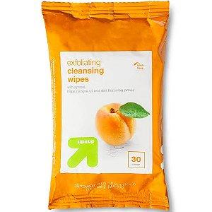 Lenço de Pêssego Esfoliante para Limpeza de pele