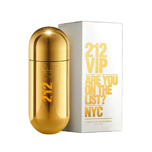 Perfume Carolina Herrera 212 VIP Gold 80 ml