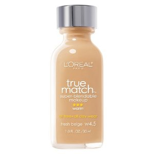 Loreal Paris Base True Match Super Blendable Makeup Fresh Beige W4.5