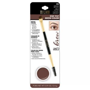 Milani Stay Put Brow Color Medium Brown 03