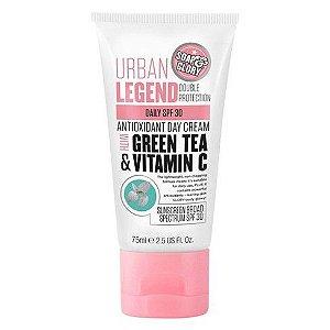 Sabonete & Glória Urban Legend Dupla Proteção Creme de Dia Antioxidante com FPS 30