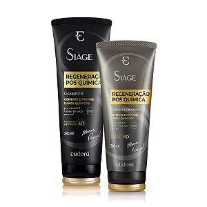 Kit Siàge Regeneração Pós Química Shampoo + Condicionador