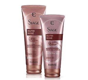 Kit Siàge Nutri Rosé Shampoo e Condicionador