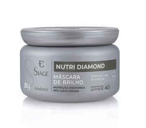 Máscara Capilar de Brilho Siàge Nutri Diamond 250g