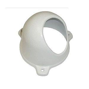 Protetor para Câmera Mini Dome Com Infra Cinza Anti-Vandalismo Bulher