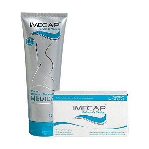 Kit Imecap Redutor de Medidas ( Gel Creme Com 250 Gramas + 60 Cápsulas )