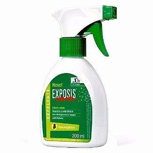 Repelente Exposis Duração De 10h Proteção 200ml Para Roupas