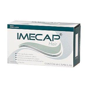 Imecap Hair 60 Cápsulas Combate Queda De Cabelos