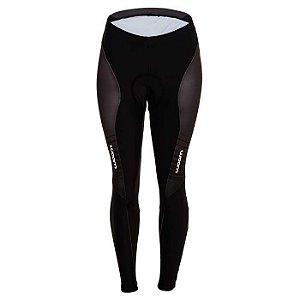 Calça de Ciclismo Supreme Black feminina - Woom
