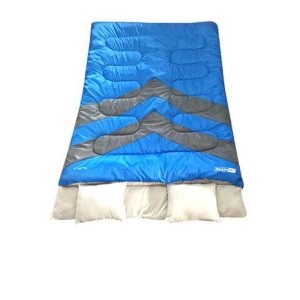 Saco de Dormir de Casal e travesseiros Kuple Nautika -5° a 5°c
