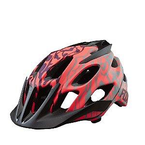 Capacete FOX Bike MTB Flux Plum