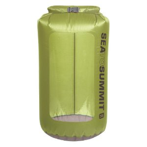 Saco Estanque Sea To Summit - Ultrasil View Dry Sack 20 Litros Verde