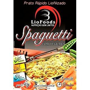 Spaghetti com Legumes Liofilizado - Liofoods