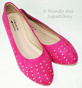 Sapatilha Pink Hot Fix