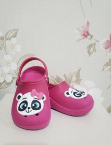 Babuche INFANTIL Pink Panda