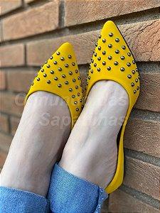 Sapatilha Amarela Spike