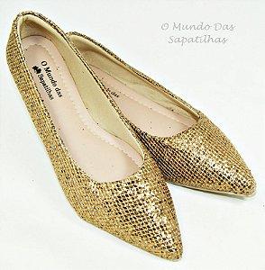 Sapatilha Luxo Ouro