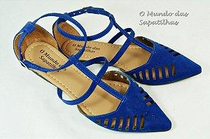 Salomé Tiras Azul Royal