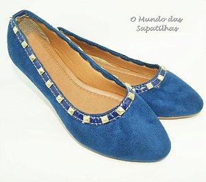 Sapatilha Azul Bic Spike