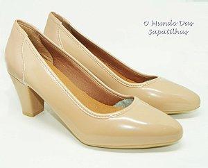Sapato Nude Verniz