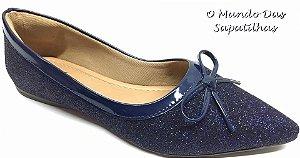 Sapatilha Gliter Azul