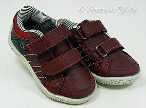 Tênis Vermelho Velcro