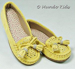 Mocassim Infantil Amarelo