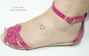 Sandália Salomé Tiras Pink