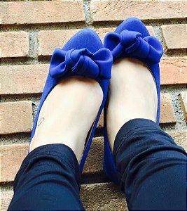 Sapatilha Nó Azul Bic