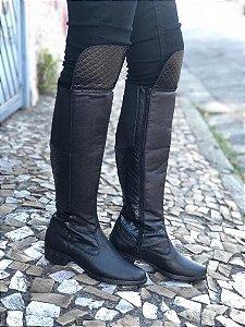 Bota Over Knee Preta