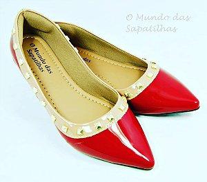 Sapatilha Luxo Valentino Vermelha