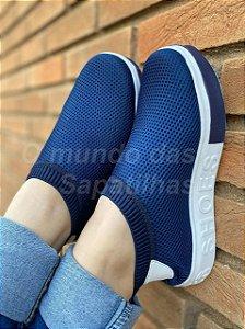 Tênis Meia Shoes Marinho