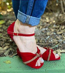 Sandália Melissa Vermelha