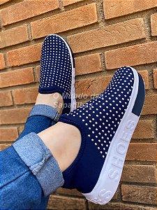 Tênis Meia Shoes Marinho Hotfix