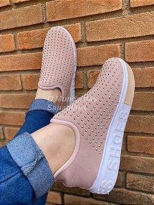 Tênis Meia Rosê Shoes Hotfix