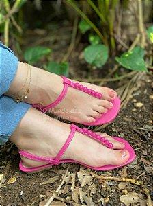 Sandália Rasteira Brisa Pink