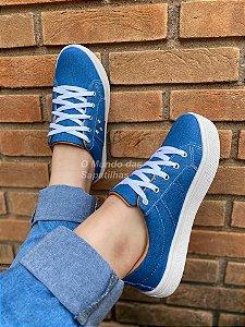 Tênis Cadarço Jeans