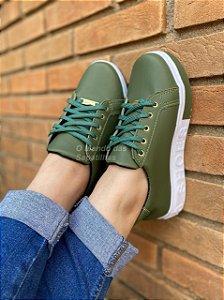 Tênis Cadarço Shoes Verde Militar