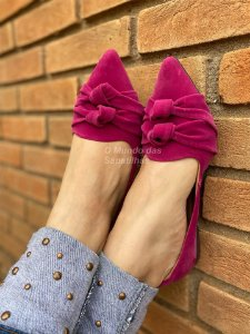 Slipper Nó Duplo Pink