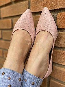 Sapatilha Tricê Rosê