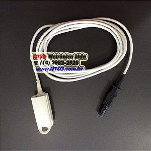 Sensor de Oximetria tipo Clip Adulto para monitor Dixtal