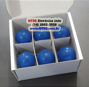 Jogo com 06 Eletrodos Precordial Adulto (Látex Free)